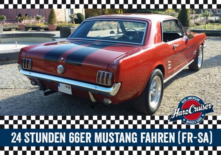 24 Stunden 66er Ford Mustang fahren (Fr-Sa)