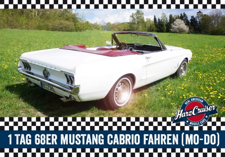 1 Tag 68er Mustang fahren (Mo-Do)