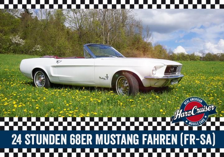 24 Stunden 68er Ford Mustang fahren (Fr-Sa)