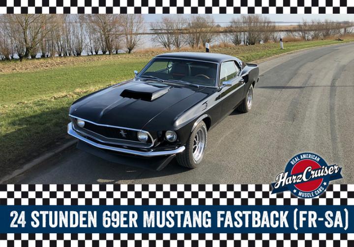 24 Stunden 69er Ford Mustang Fastback fahren (Fr-Sa)