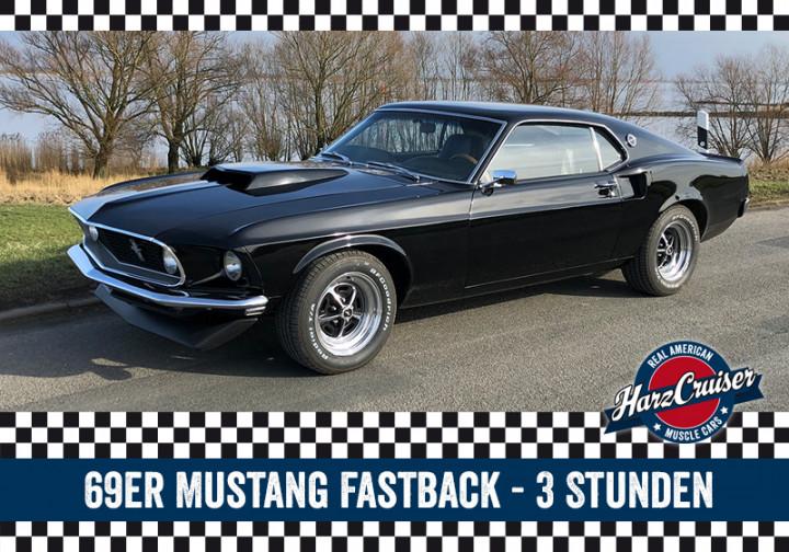 69er Mustang Fastback Intensiv-Schnuppern - 3 Stunden