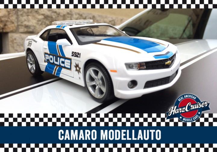 Chevrolet Camaro SS Modellauto - perfekt zum dazuschenken