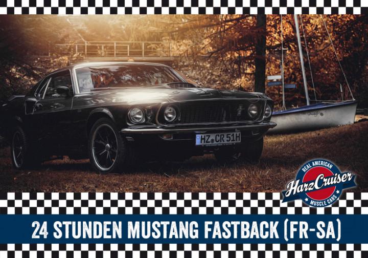 24 Stunden 67er/69er Ford Mustang Fastback fahren (Fr-Sa)