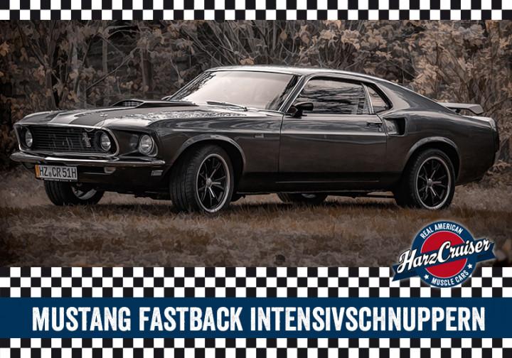 67er/69er Mustang Fastback Intensiv-Schnuppern - 3 Stunden