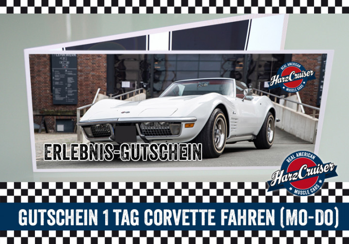 1 Tag (Mo-Do) Corvette C3 Stingray fahren - Gutschein