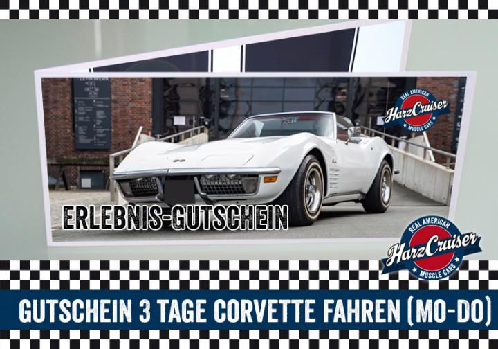 3 Tage (Mo-Do) Corvette C3 Stingray fahren - Gutschein