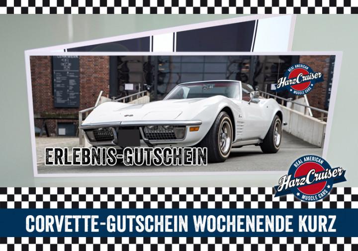 Corvette C3 Stingray Wochenende kurz - Gutschein