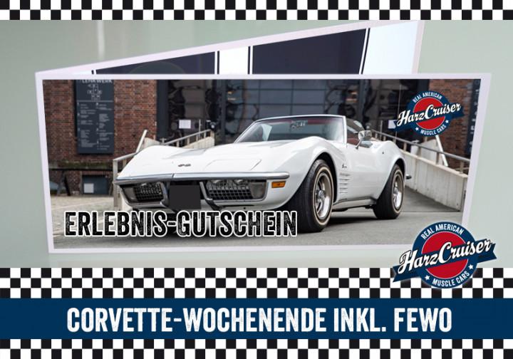 Corvette C3 Stingray Wochenende inkl. FeWo (Gutschein)