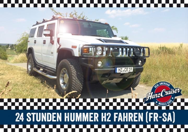 24 Stunden Hummer fahren (Fr-So)