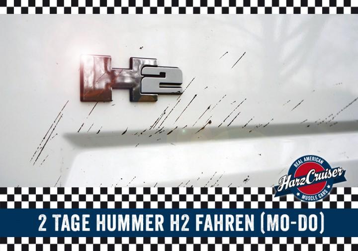 2 Tage Hummer fahren (Mo - Do)