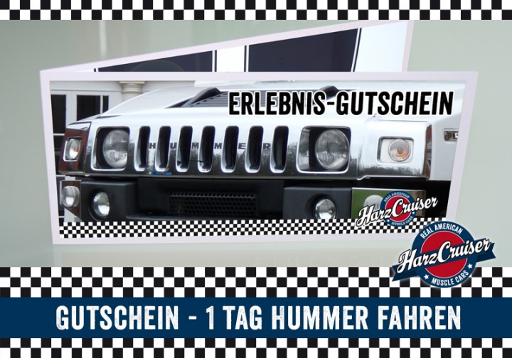 1 tag mo do hummer h2 fahren gutschein hummer h2 gutscheine harzcruiser v8. Black Bedroom Furniture Sets. Home Design Ideas