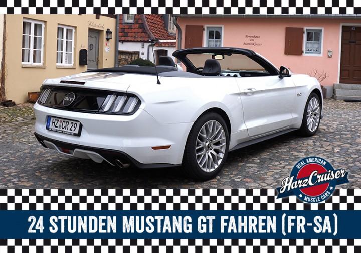 24 Stunden Mustang GT Cabrio fahren (Fr-Sa)