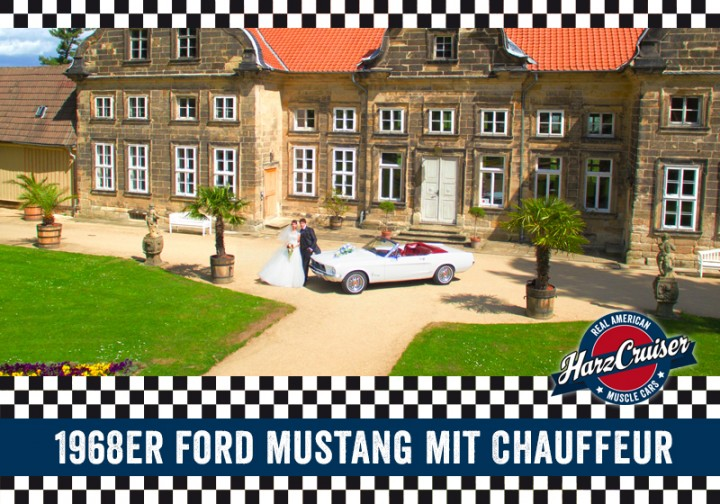 4 Stunden Ford Mustang Oldtimer mit Chauffeur