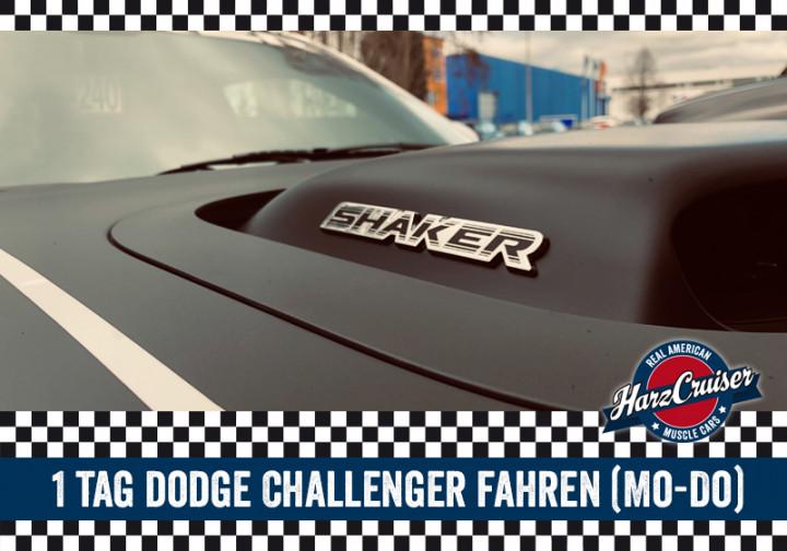 1 Tag Dodge Challenger fahren (Mo-Do)
