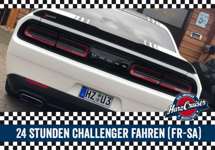 24 Stunden Dodge Challenger fahren (Freitag-Samstag)