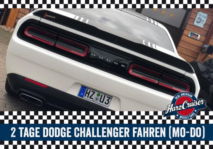 2 Tag Dodge Challenger fahren (Mo-Do)