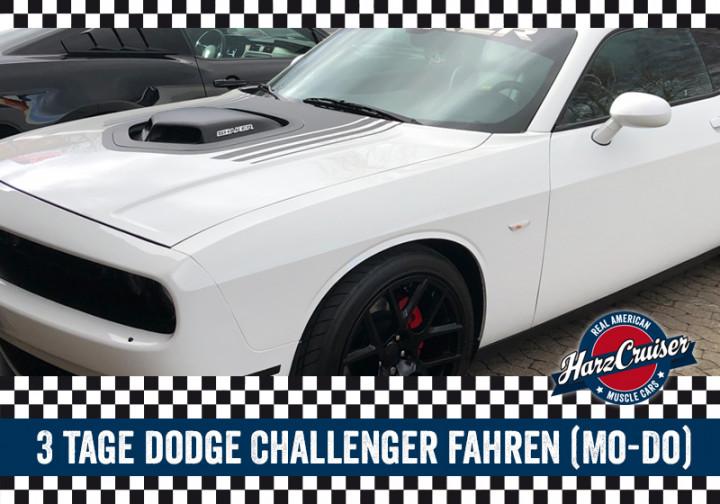 3 Tag Dodge Challenger fahren (Mo-Do)