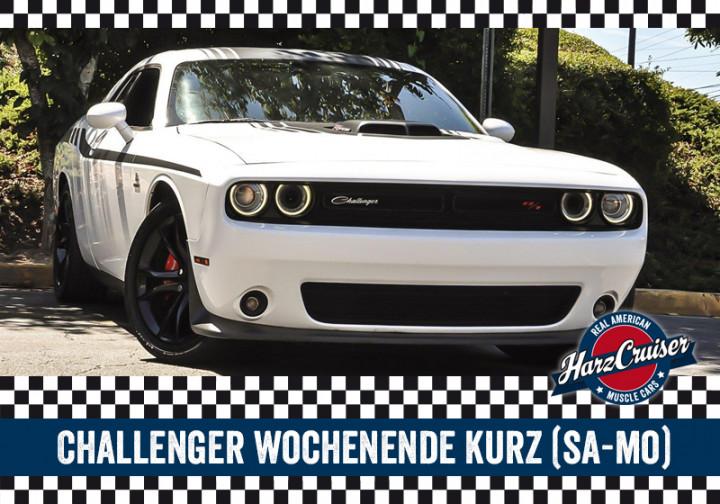 Dodge Challenger Wochenende kurz (Samstag-Montag)