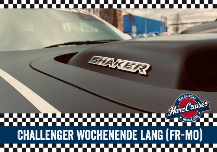 Dodge Challenger Wochenende lang (Freitag-Montag)
