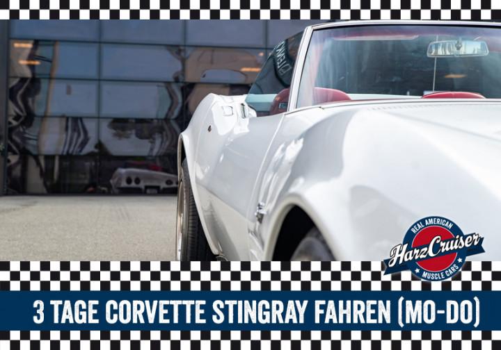 3 Tage Corvette C3 Stingray fahren (Mo-Do)