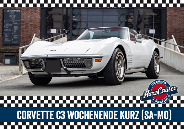Corvette C3 Stingray Wochenende kurz - Samstag bis Montag