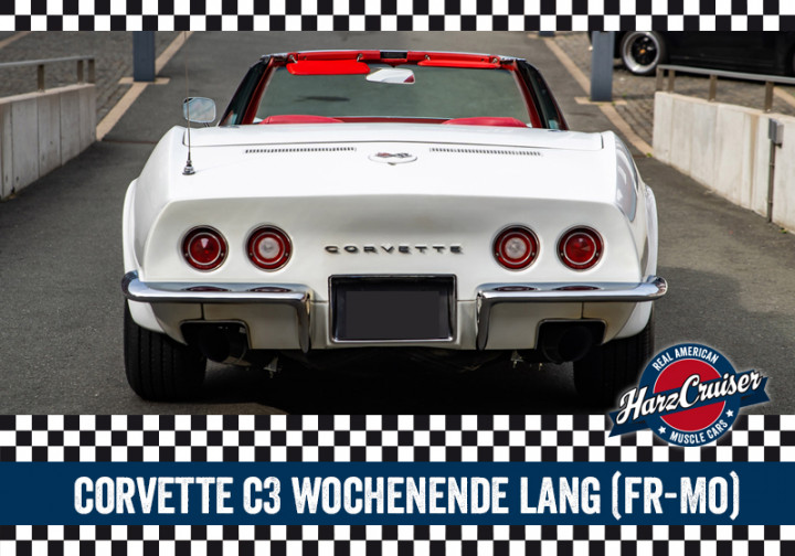 Corvette C3 Stingray Wochenende lang - Freitag bis Montag