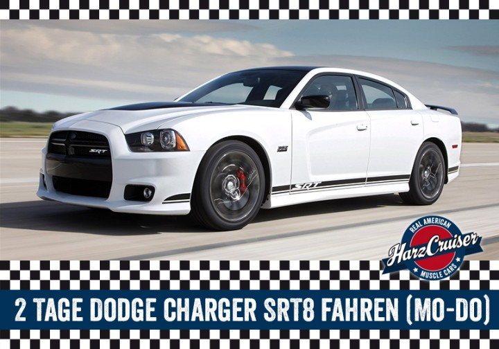 2 Tage Dodge Charger SRT8 fahren (Mo-Do)