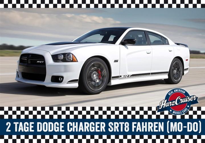 2 Tage Dodge Charger SRT8 fahren (Mo-Do)