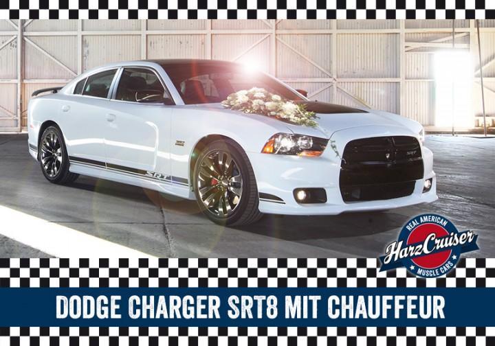 4 Stunden Dodge Charger SRT8 mit Chauffeur