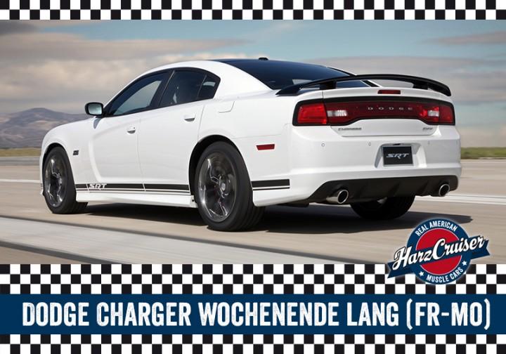 Dodge Charger SRT8 Wochenende lang (Freitag-Montag)