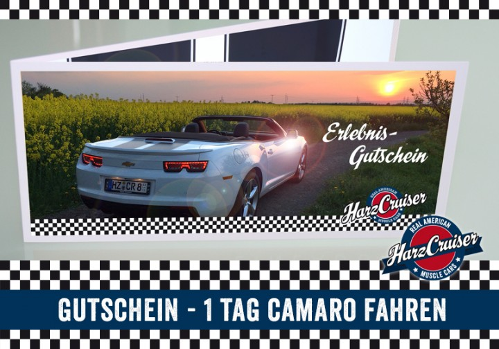 1 Tag (Mo-Do) Camaro fahren - Gutschein