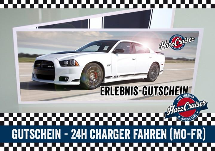24 Stunden Dodge Charger SRT8 fahren - Gutschein