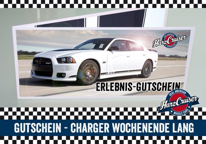 Dodge Charger SRT8 Wochenende lang - Gutschein