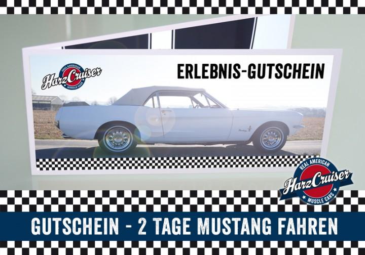 2 Tage (Mo-Do) Mustang Oldtimer fahren (Mo - Do) - Gutschein