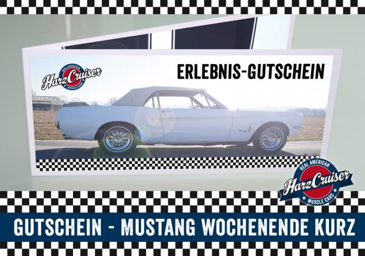 inkl. FeWo:Mustang Oldtimer Wochenende (Gutschein)
