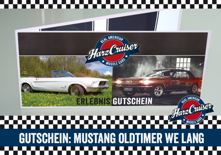 Ford Mustang Wochenende lang - Gutschein