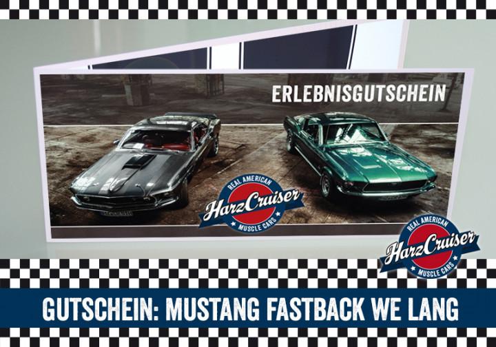 Mustang Fastback Wochenende lang - Gutschein