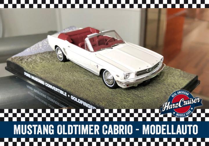 Mustang-Oldtimer-Modellauto - perfekt zum dazuschenken