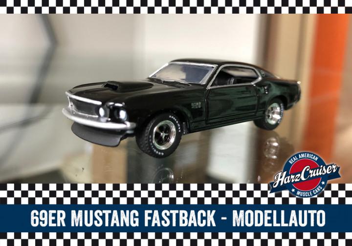 69er Mustang Fastback Modellauto - perfekt zum dazuschenken