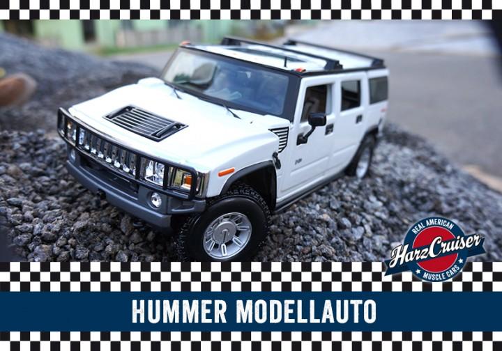 Hummer Modellauto - perfekt zum dazuschenken