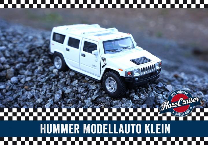 kleines Hummer Modellauto - perfekt zum dazuschenken