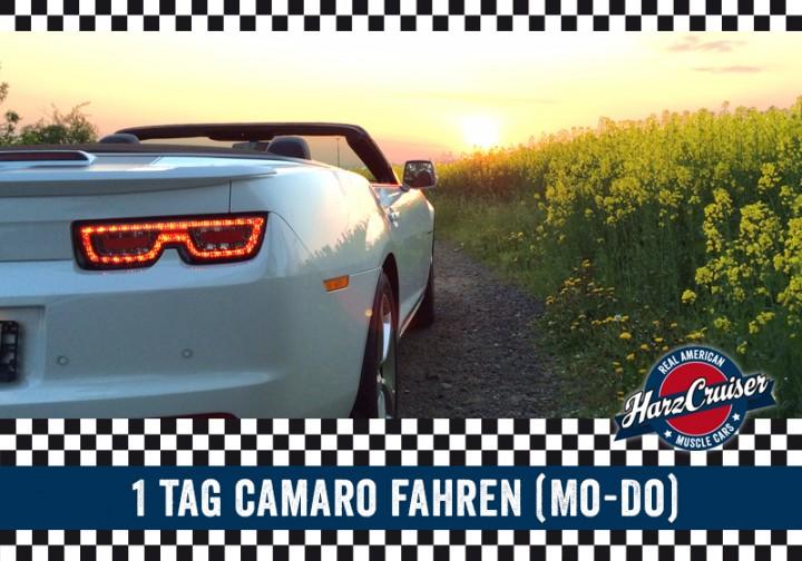 1 Tag Camaro fahren (Mo-Do)