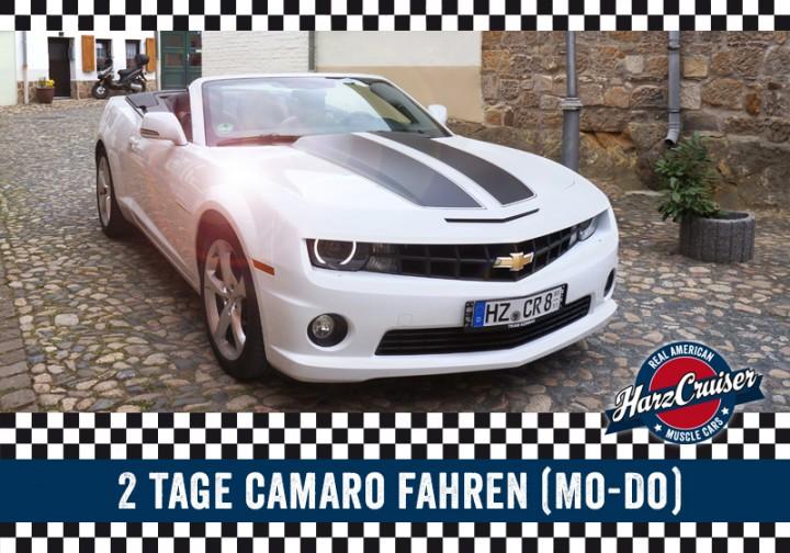 2 Tage Camaro fahren (Mo - Do)