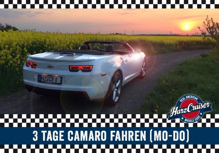 3 Tage Camaro fahren (Mo - Do)