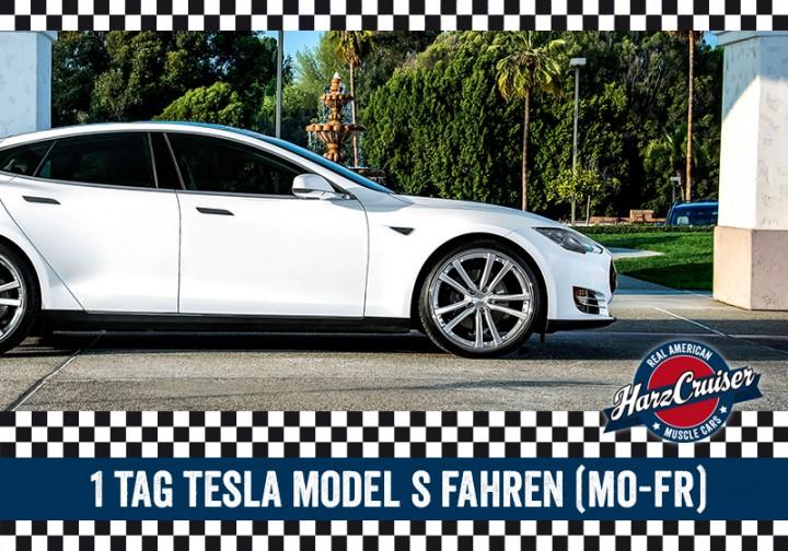 1 Tag Tesla Model S fahren (Mo-Fr)