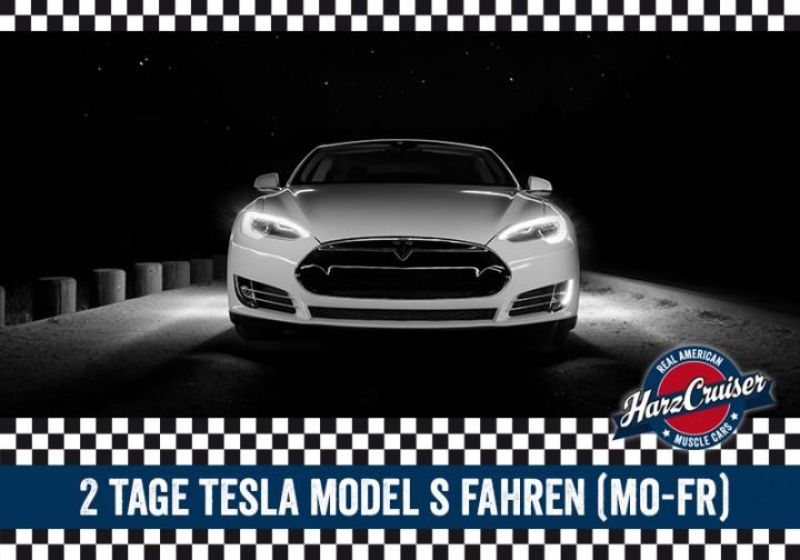 2 Tage Tesla Model S fahren (Mo-Fr)