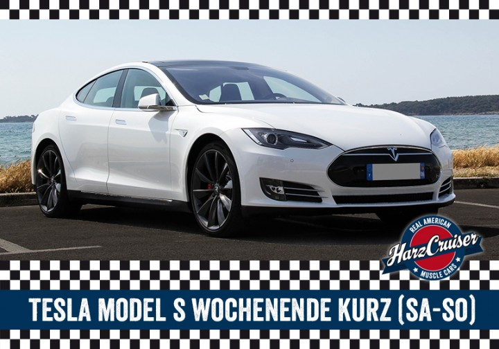 Tesla Model S - Wochenende kurz