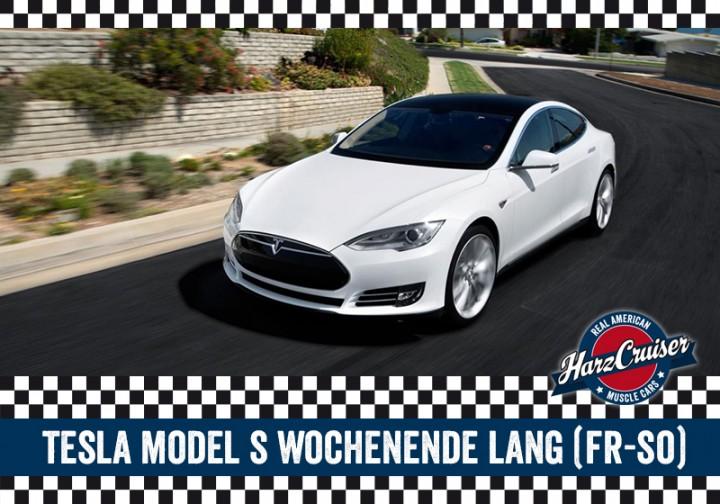 Tesla Model S - Wochenende lang